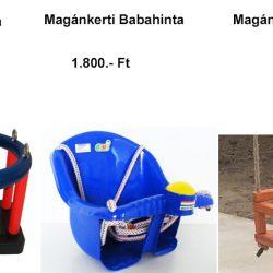Babahinta képe és ára, közterületi és magánkerti