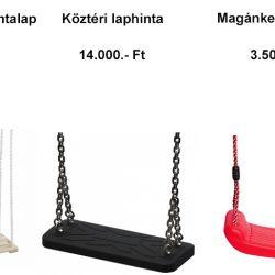 Laphinta magánkerti és közterületi árai