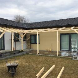 Fal és szigetelés fúrás nélküli tetőfelfüggesztés